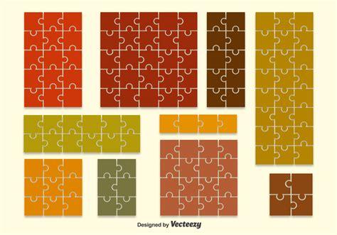 puzzle shape backdrop vectors   vectors