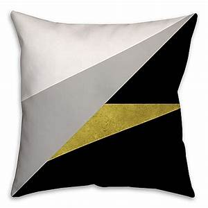 gold embellished block square throw pillow bed bath beyond With embellished decorative pillows