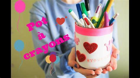 comment faire un pot a crayons personnalis 201