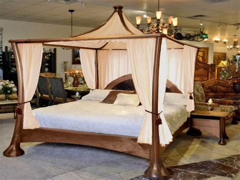 Four Poster Canopy Bed King, Four Poster Bed Bedroom
