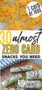 30 no carb snacks to buy and make by whole lotta yum in