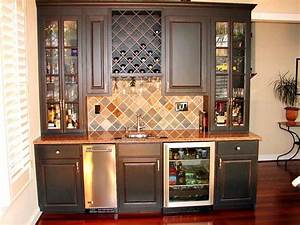 Custom bars built-in bars basement bars Custom Cabinets