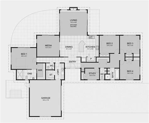 open layout house plans david homes lifestyle 7 specifications house plans