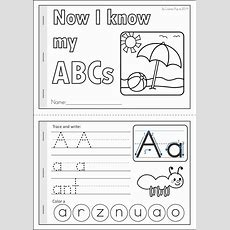 Summer Review Kindergarten Math & Literacy Worksheets & Activities  Writing & Fine Motor