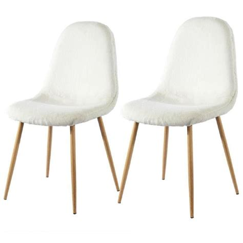 chaises design blanches lot 6 chaises blanches maison design wiblia com