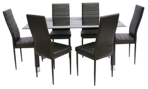 table 6 chaises avatar verre et m 201 tal grossiste en