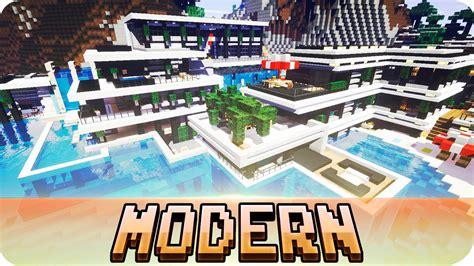 minecraft chicken cove modern house map   youtube