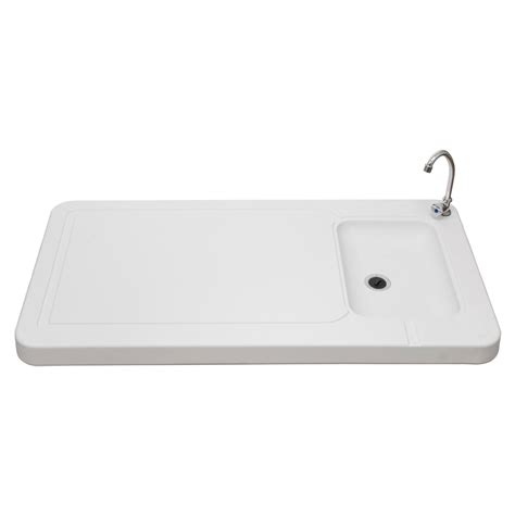 stainless steel fish cleaning table with sink outdoor folding table sink faucet fish
