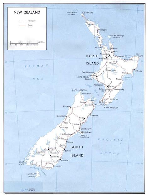 maps   zealand