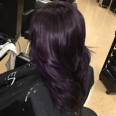 50 Stylish Dark Purple Hair Color Ideas — Destined To