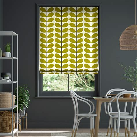 orla kiely roman blinds famous designs  affordable