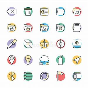 Design And Development Cool Vector Icons 5 Stock ...