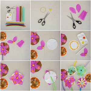 Spring Craft: How to Make a Paper Bouquet