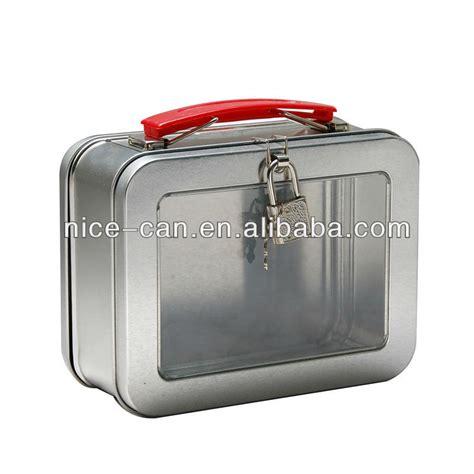 metal pail 2018 fashion style factory wholesale metal tin lunch box
