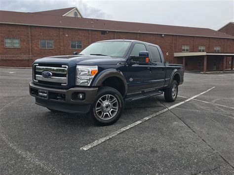 Optional equipment 2016 Ford F 250 King Ranch lifted for sale