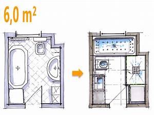 Badplanung Kleines Bad : badplanung beispiel 6 qm komfortables wellnessbad mit ~ Michelbontemps.com Haus und Dekorationen