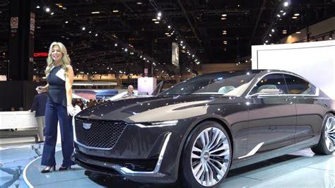 cadillac escalade twin turbo  luxury sedan concept