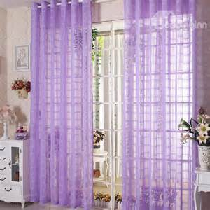 elegant contemporary light purple custom sheer curtain beddinginn com
