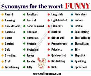 FUNNY Synonym: ... Absurd Synonym
