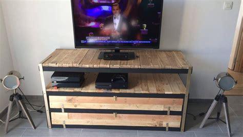 petit meuble bureau un meuble télé industriel à petit prix bidouilles ikea