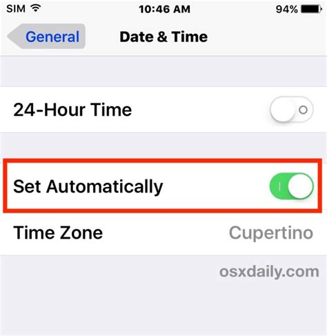 iphone ipad showing wrong time fix easily