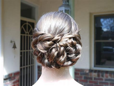 Grad Updo Hairstyles by Graduation Hairstyles For Hair Updos