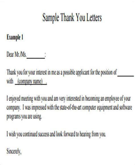 sle job application letter 8 exles in word pdf