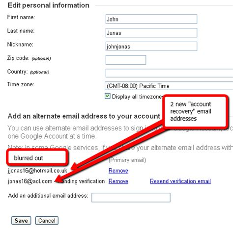 how to successfully recover a disabled gmail account