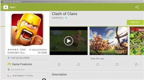 clash of clans for pc play on computer laptop