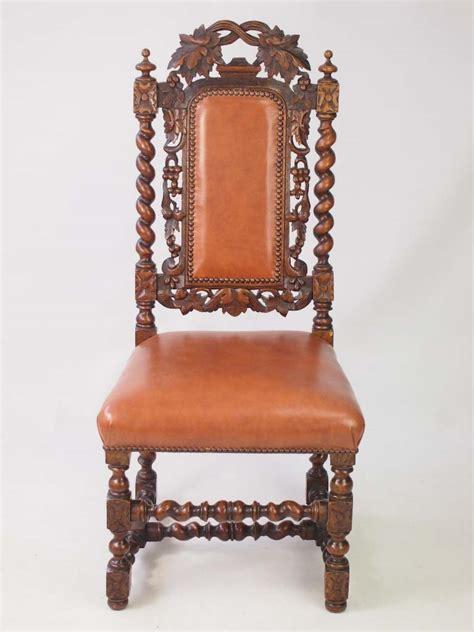 antique recliner chair antique oak revival chair 1295