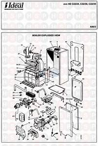 Ideal Evo He C22  35  Boiler Diagram