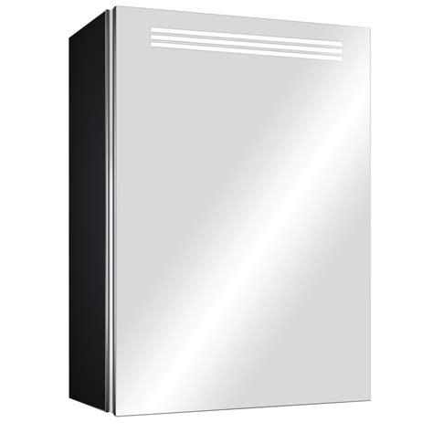 Illuminazione Design by Specchio Led Bagno Contenitore 50x70 Con Illuminazione