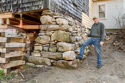 how to build a base for a granite top building stone walls with kevin gardner new hshire