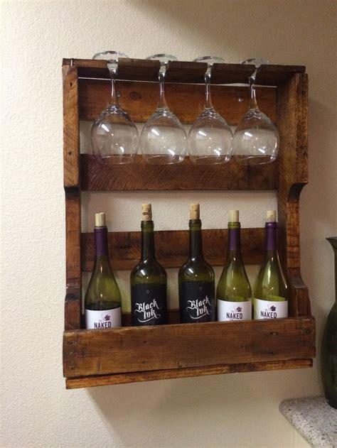pallet wine rack ideas   house pinterest wine