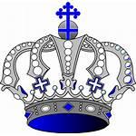 Crown King Royal Clipart Crowns Coroa Rei