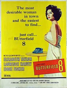 Butterfield 8 (1960) | Amazing Movie Posters