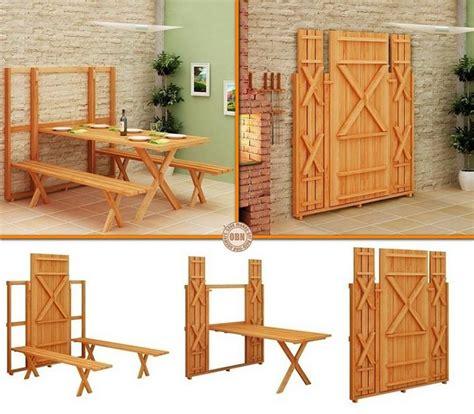 space saving fold picnic table