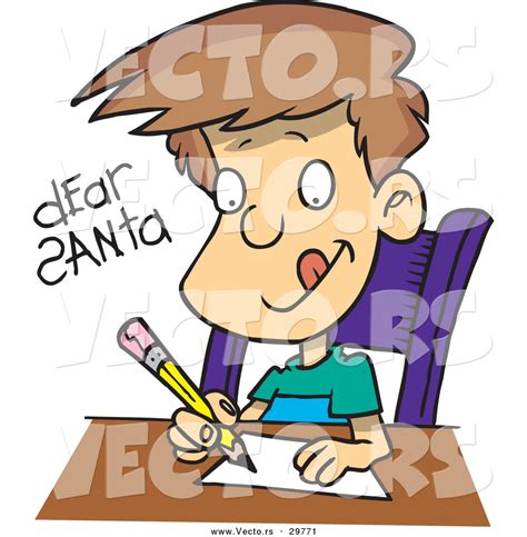 12703 writing letter clipart person writing a letter clipart 25