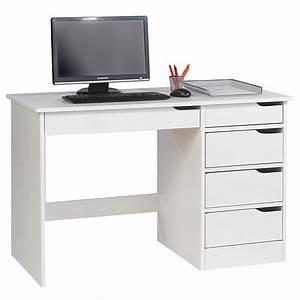 Schreibtisch Kiefer Massiv : schreibtisch hugo in kiefer massiv wei mobilia24 ~ Orissabook.com Haus und Dekorationen