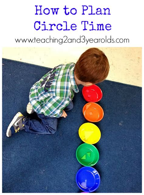 creating a preschool circle time teaching2and3yearolds 716 | how to plan circle time
