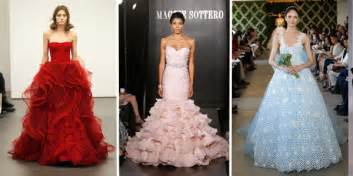 colored wedding dress consider a colored bridal gown for your wedding damn magazine