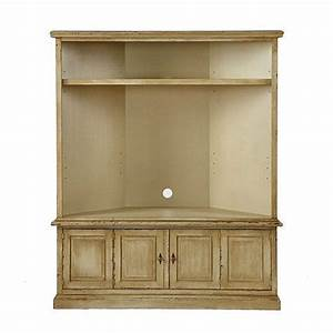 Corner Media Cabinet With Hutch - WoodWorking Projects & Plans