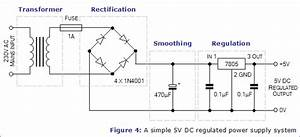 How To Calculate The Values Of Capacitors For 5v Dc Power