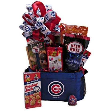 gifts for cubs fans basketworks chicago gift baskets holiday and baby gift