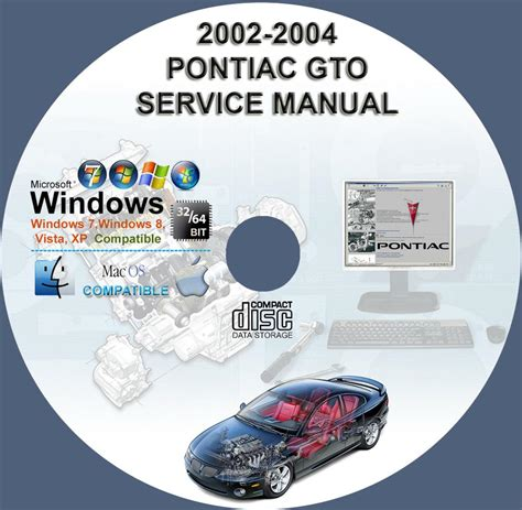 small engine repair manuals free download 2002 pontiac bonneville spare parts catalogs pontiac gto 2004 2006 service repair manual on cd 04 05 06 owners manual www