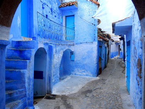 The Blue City Chefchaouen Morocco Driftwoodproductions