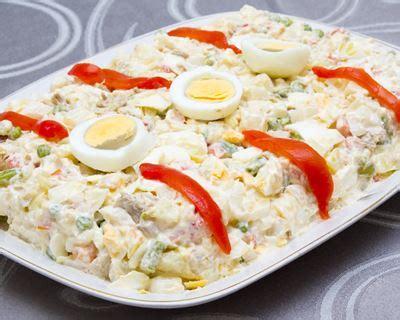 recettes cuisine az recette ensaladilla salade de pommes de terre à l 39 espagnole