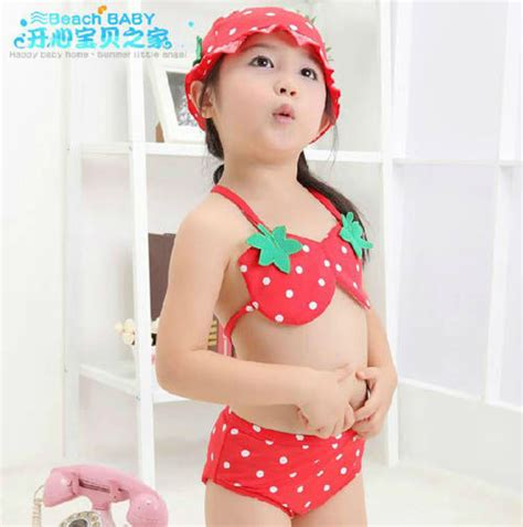shipping pcslot strawberry baby girl bikini