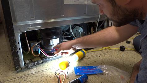 refrigerator fan not running kenmore refrigerator not at all compressor youtube