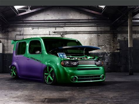 nissan cube named   top  coolest  car